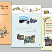 Edukačná brožúra pre školy o bezpečnosti v cestnej premávke od firmy Renault