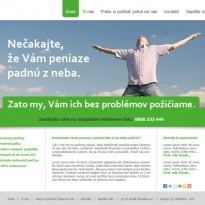 Web stránka OT Kredit