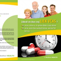 Reklamný leták Medikor Health