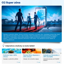 O2 Superzóna html newsletter