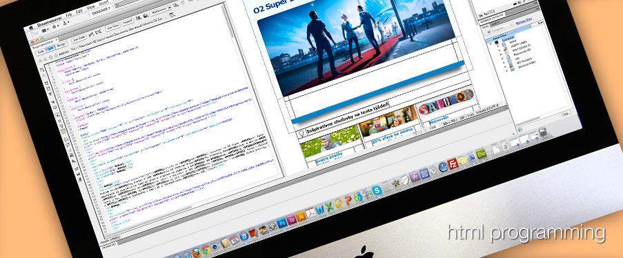 Grafika, html programovanie