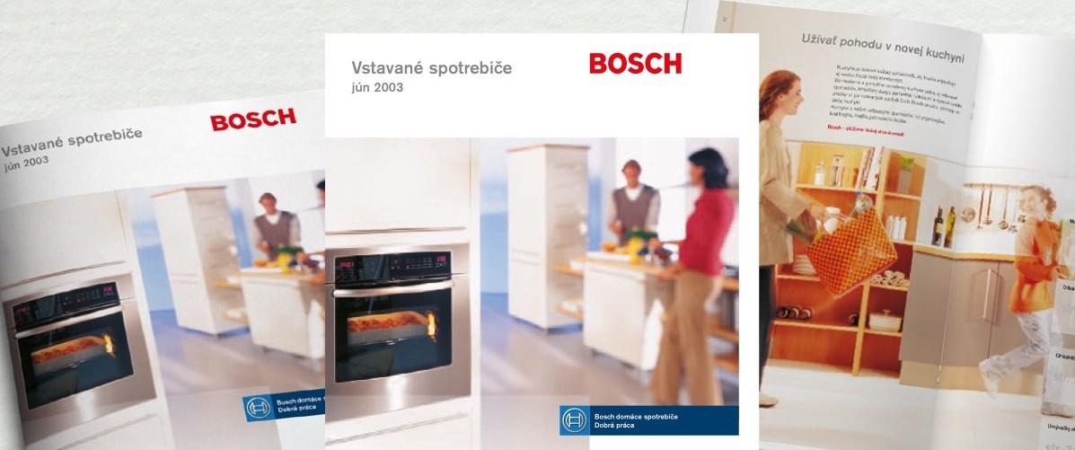 Katalóg Bosch - layout, dtp, prepress, produkcia