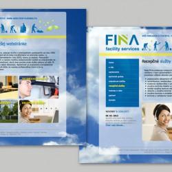 Web stránka FINA